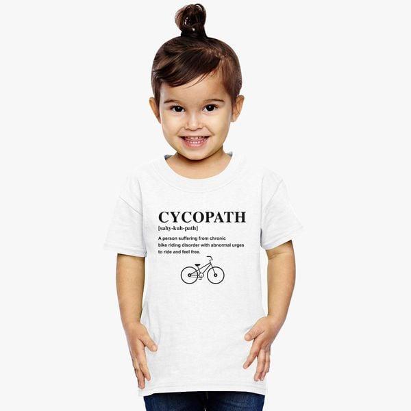 923305cdd Cycopath Noun Logo Toddler T-shirt - Customon
