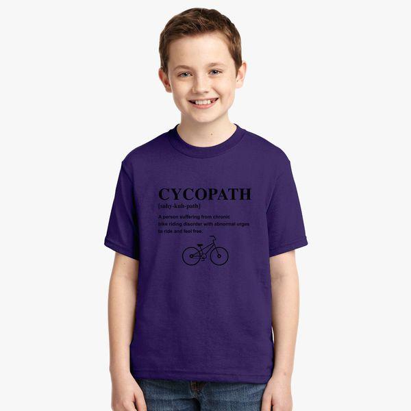 18b34de91 Cycopath Noun Logo Youth T-shirt - Customon