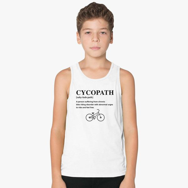 a2e3208ff Cycopath Noun Logo Kids Tank Top - Customon