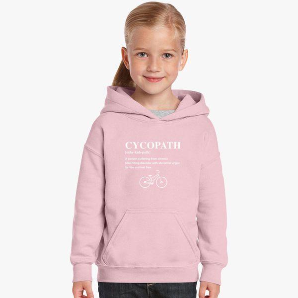 929a42d31 Cycopath Noun Logo Kids Hoodie - Customon