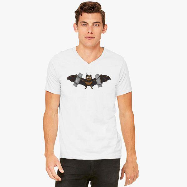 Do It Yourself Bat Logo V Neck T Shirt