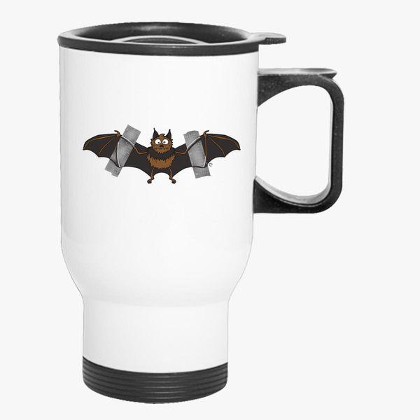 Do It Yourself Bat Logo Travel Mug