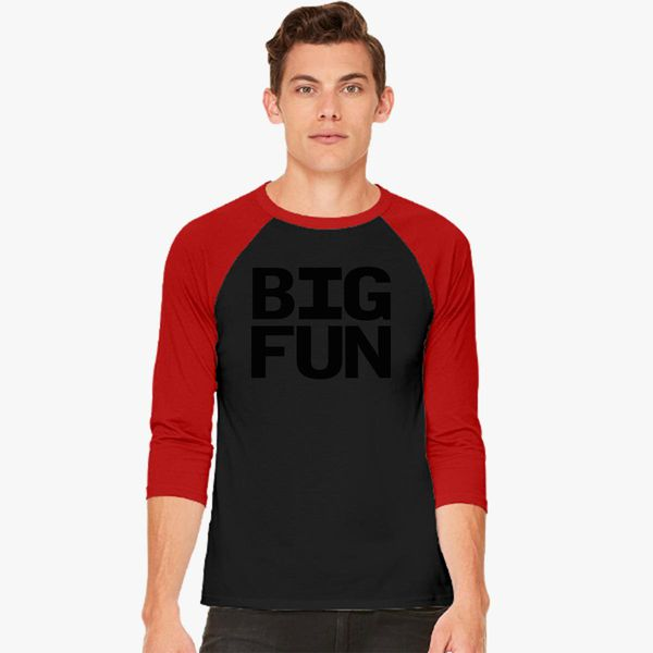 e63843828 Big Fun - Heathers Baseball T-shirt - Customon