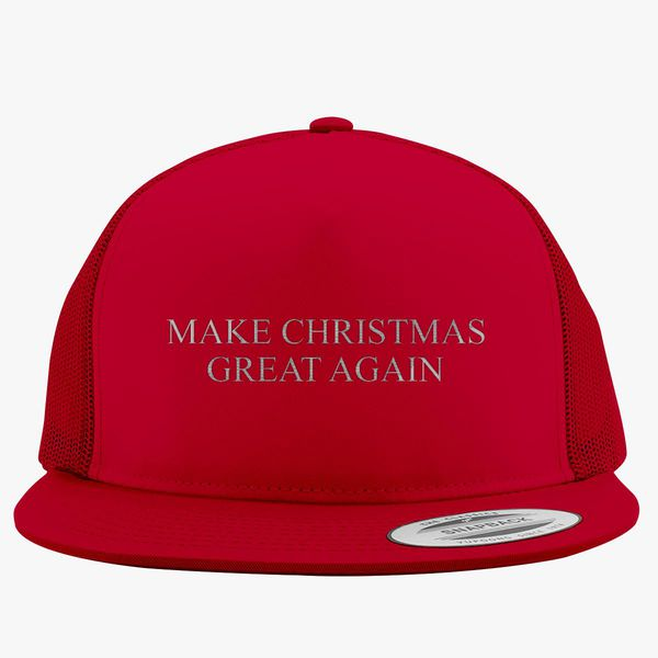 7b2b95dd04510 Make Christmas Great Again Trucker Hat (Embroidered) - Customon