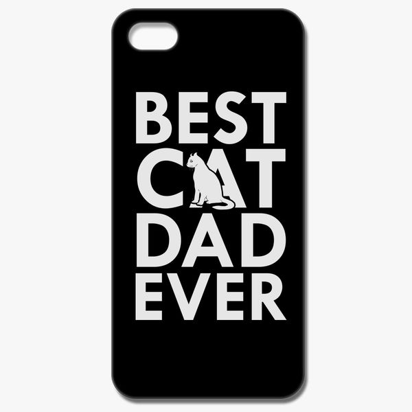 a456e555 Best Cat Dad Ever iPhone 8 Case - Customon