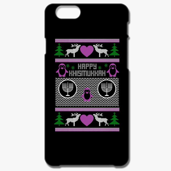 35b14897 Ugly Christmas And Hanukkah sweaters iPhone 8 Plus Case ...