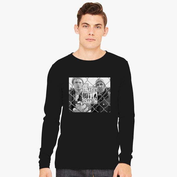 6cbad0b389614 Straight Outta Scranton Long Sleeve T-shirt - Customon