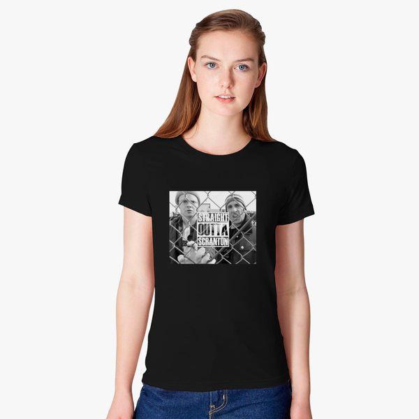 e734ce484e91f Straight Outta Scranton Women's T-shirt - Customon
