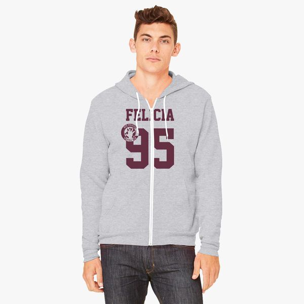 Buy Felicia 95 jersey Unisex Zip-Up Hoodie, 305698
