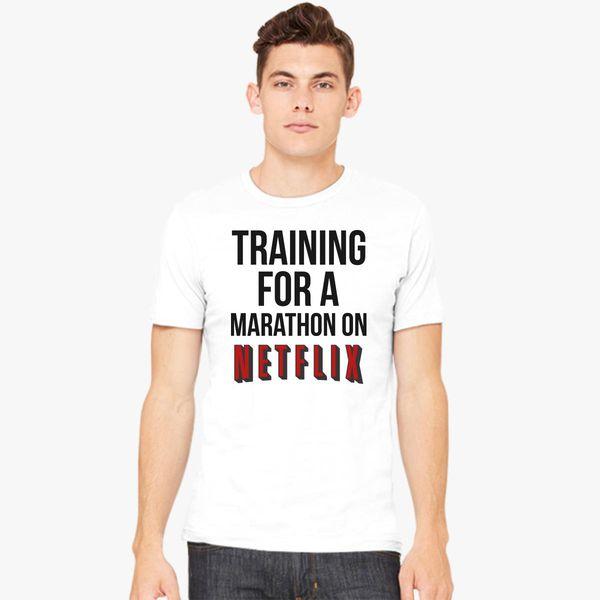Funny Mens Sweatshirt Customised Perfection Netflixing