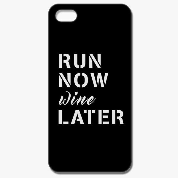 buy online 33ca5 a96ba Run Now Wine Later iPhone 8 Case - Customon