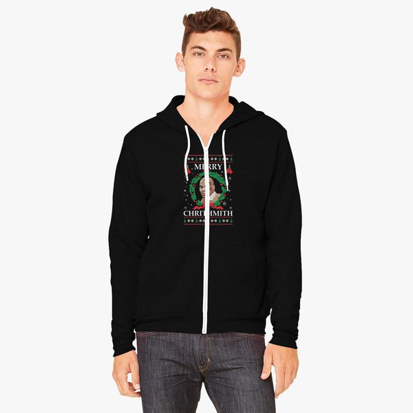 9bcc43733 Merry Chrithmith Funny Christmas Unisex Zip-Up Hoodie - Customon