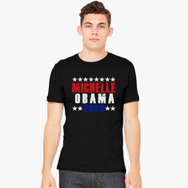 6d34c96f Human Michelle Obama 2020 Men's T-shirt - Customon