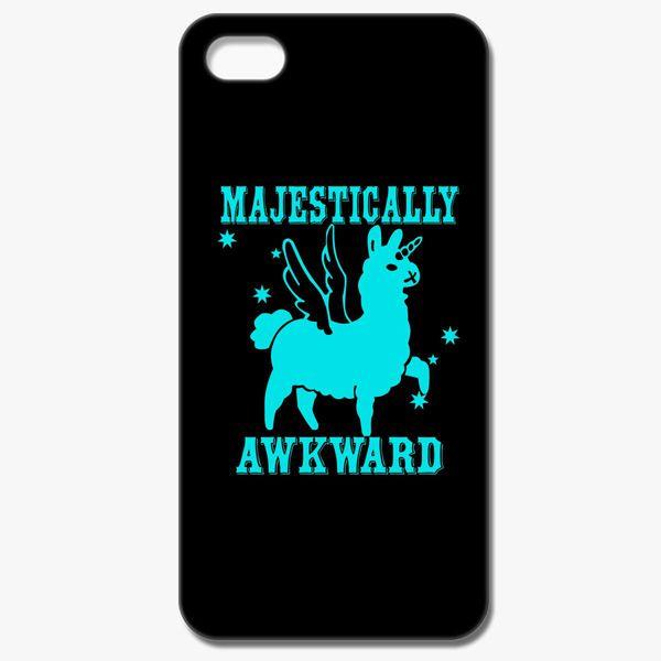 78a12df29 Majestically Awkward Llamicorn iPhone 7 Case - Customon
