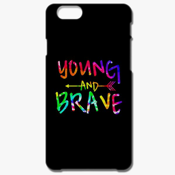 newest f0403 2fe2d YOUNG AND BRAVE - TIE DYE iPhone 7 Plus Case - Customon