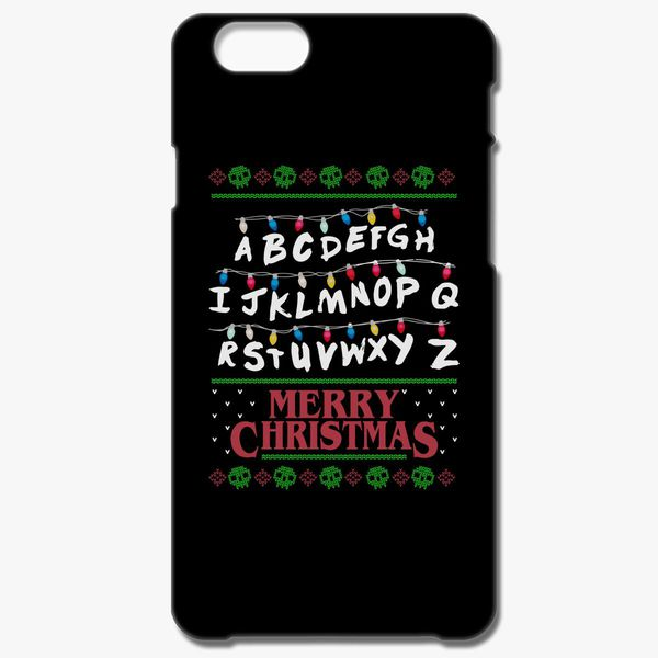 Stranger Things Ugly Christmas Sweater.Stranger Things Ugly Sweater Iphone 8 Plus Case Customon