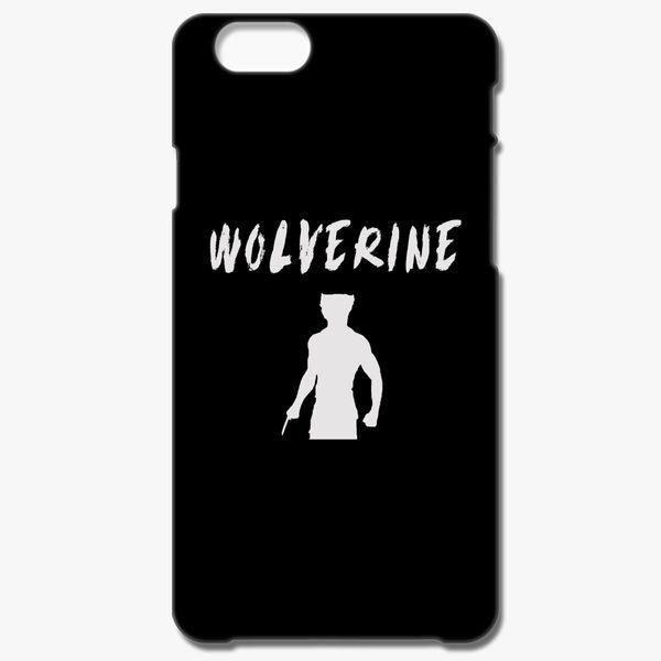 Wolverine silhouette iphone case
