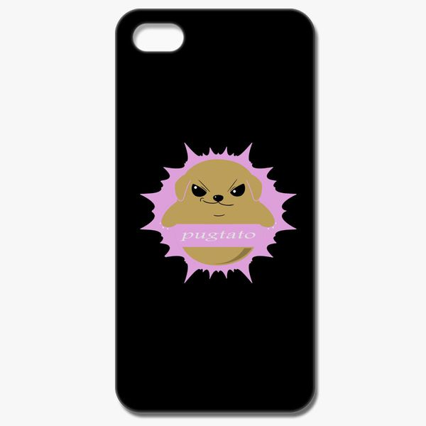 reputable site 6d186 98ac3 Funny Pugtato Pug iPhone 8 Case - Customon