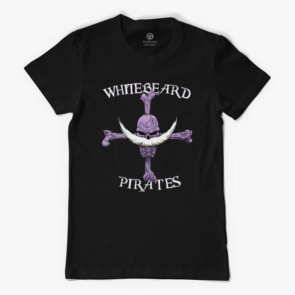 Whitebeard Pirate Logo One Piece Women's T-shirt - Customon
