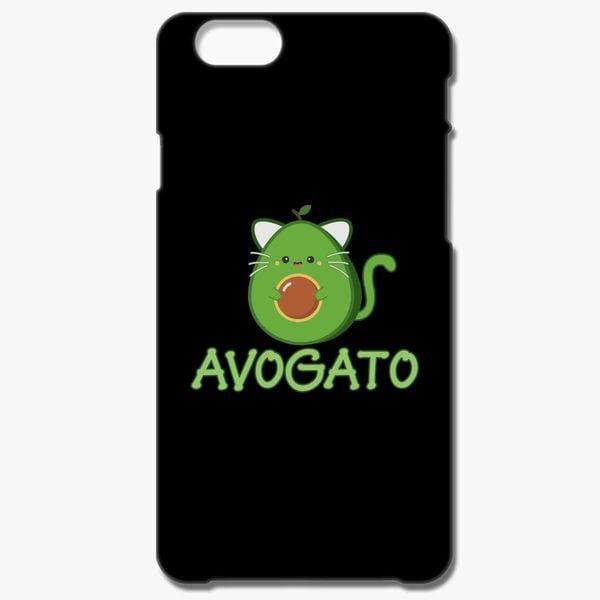 newest 2e54b 5935f Avocado Cat iPhone 8 Plus Case - Customon