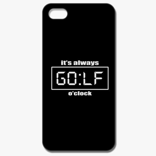 size 40 d71c6 fde86 Time Is Golf O Clock iPhone 8 Case - Customon