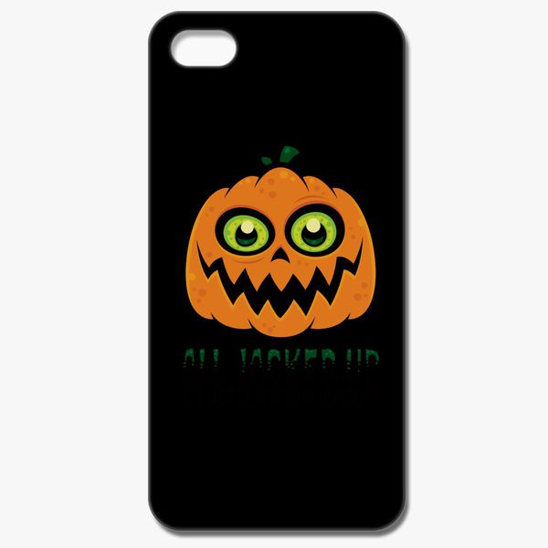 b7bbc5e86 All Jacked Up on Halloween Candy Jack-O'-Lantern iPhone 8 Case ...