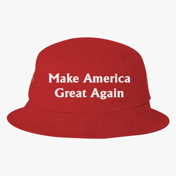 a9064f5a6 Make America Great Again Bucket Hat (Embroidered) - Customon