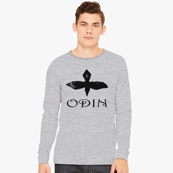 79976245 Odin Raven Long Sleeve T-shirt - Customon