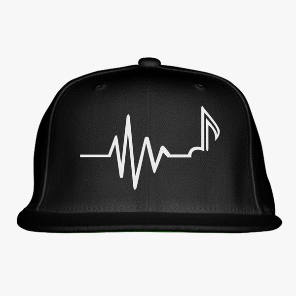 Custom Snapback Hats for Men /& Women Music Note Embroidery Cotton Snapback