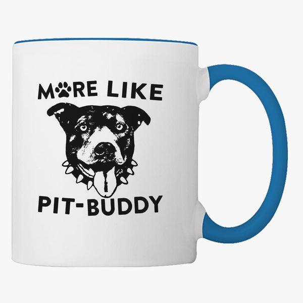 Pitbull T Shirt Coffee Mug Customon