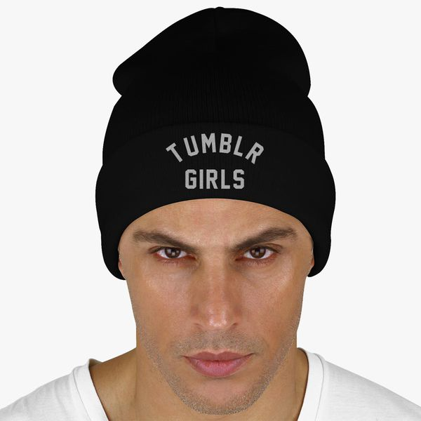 89dd24c0b25 Tumblr Girls Knit Cap (Embroidered) - Customon