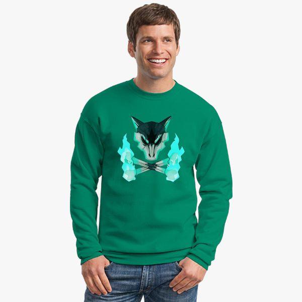 219bf4907 Pokemon - Alolan Marowak Skull Crewneck Sweatshirt - Customon