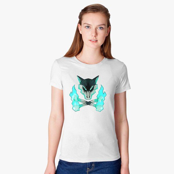 241a3a5d2 Pokemon - Alolan Marowak Skull Women's T-shirt - Customon