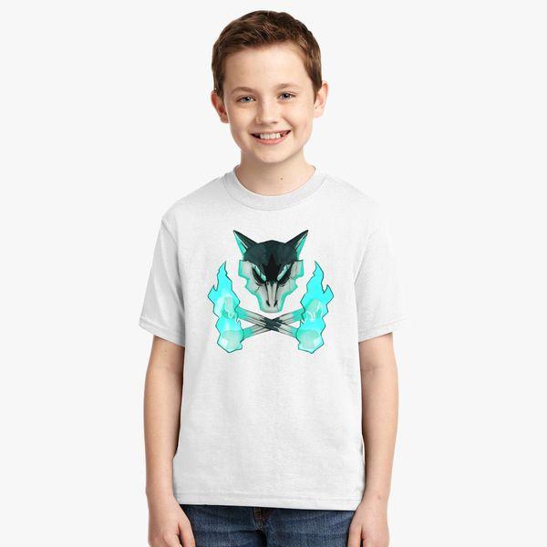 cb0300d1e Pokemon - Alolan Marowak Skull Youth T-shirt - Customon