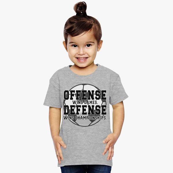 Buy Offense Wins Games Soccer Toddler T-shirt, 354113