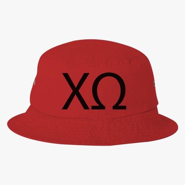 fffd4f67feb7a Chi Omega Bucket Hat (Embroidered) - Customon