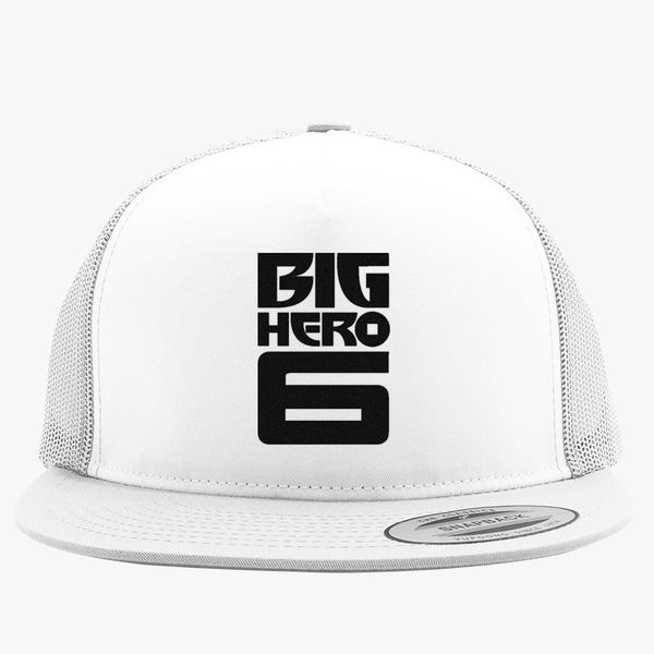 5a514748b50 Big Hero 6 Logo Trucker Hat (Embroidered) - Customon