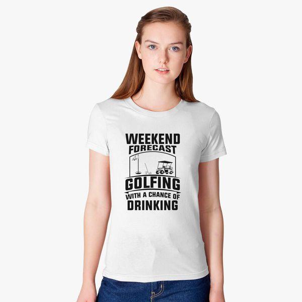 Funny Golf Lover Quotes Women S T Shirt Customon