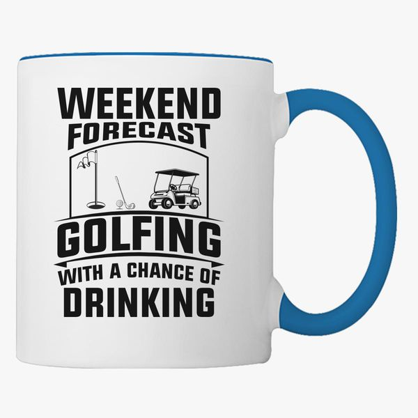 funny golf lover quotes coffee mug customon