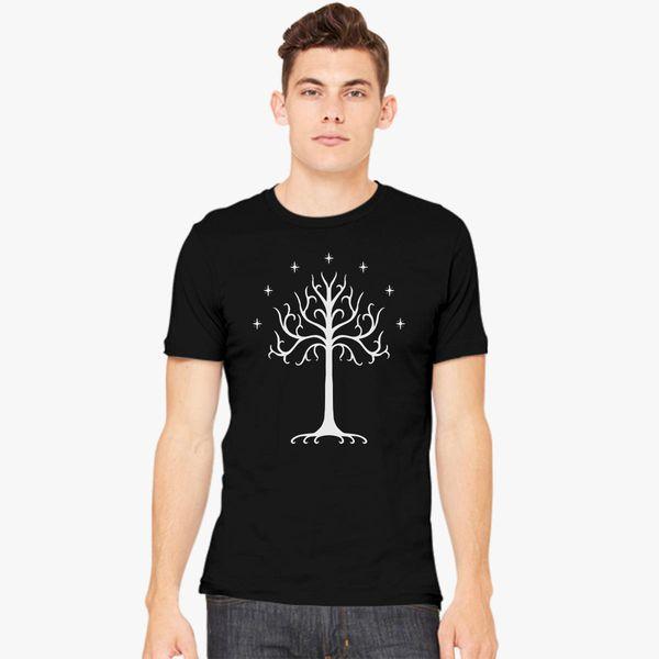 f841f7ea9 White Tree Of Gondor The Rise Of Mordor Men's T-shirt - Customon