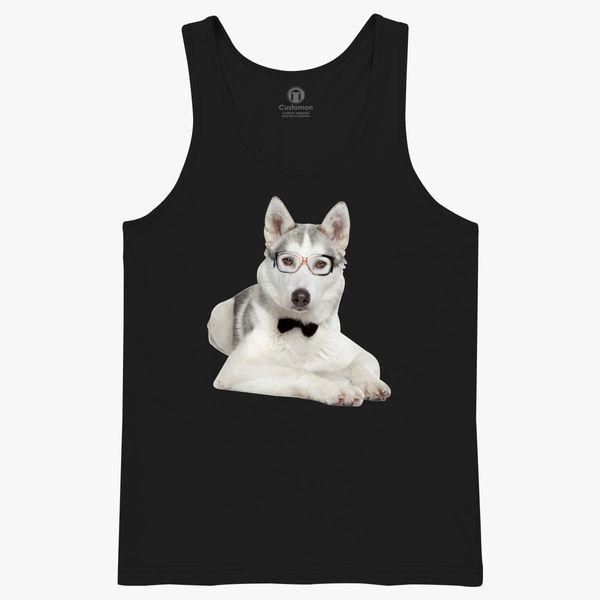 Belle Syberian Husky Tee-Shirt Homme//Tank Top gg675m