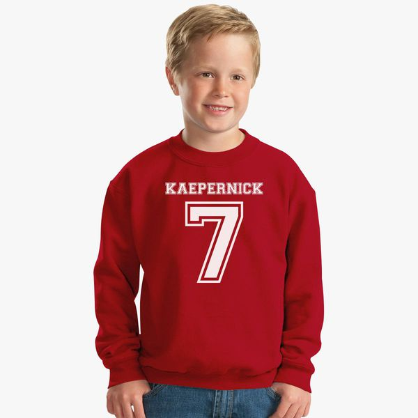 1a53712c3f4 Kaepernick Cut Sing National Anthem Kids Sweatshirt - Customon