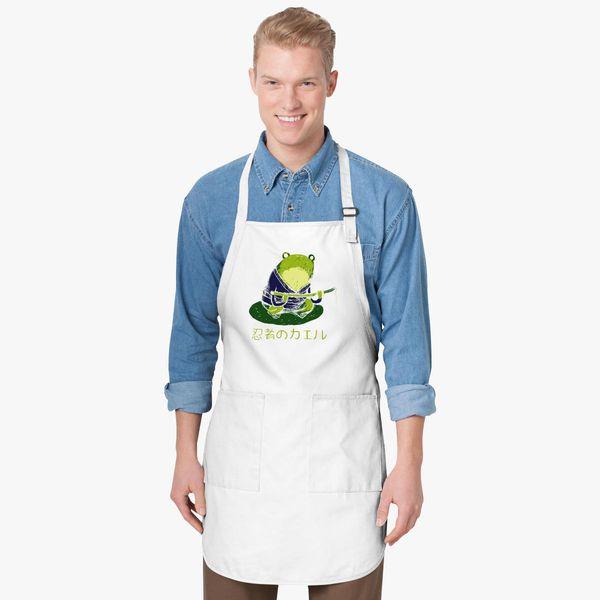 Ninja Frog Apron Customon