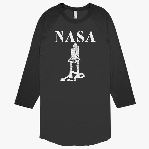 b2aad7b669 Funny Nasa Baseball T-shirt - Customon