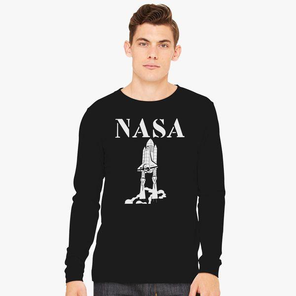 0a61d9d14c Funny Nasa Long Sleeve T-shirt - Customon