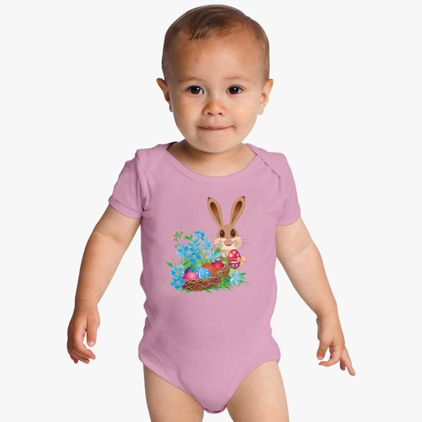 e65f3461c Easter Bunny Baby Onesies - Customon
