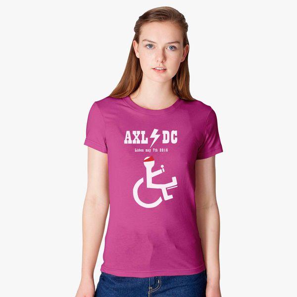 a2f590f6 ... AXL DC Concert Bandana Women s T shirt Customon