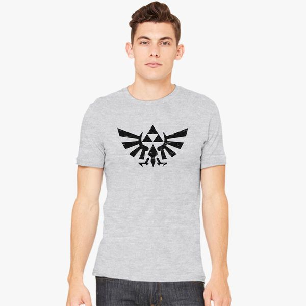 14a07306c Zelda Triforce Symbol Grunge Men's T-shirt - Customon
