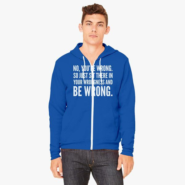 Buy wrong Unisex Zip-Up Hoodie, 476715