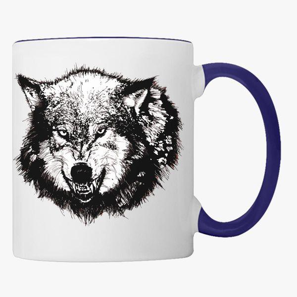 Wolf Coffee Mug Customon